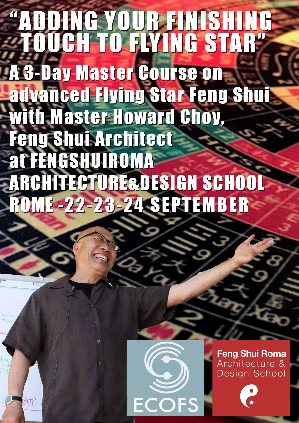Adding Your Finishing Touch to Flying Star with Master Howard Choy