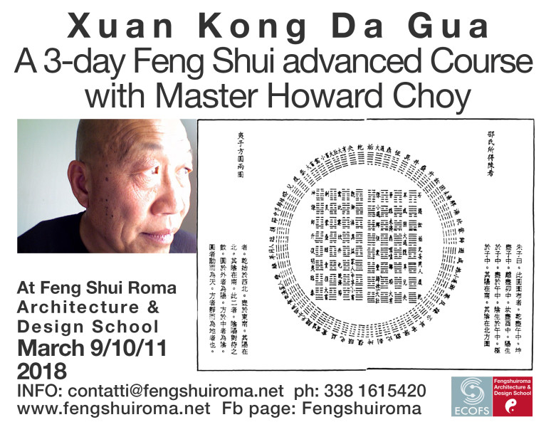 XUAN KONG DA GUA ADVANCED COURSE- MASTER HOWARD CHOY @ Kolping Casa Domitilla