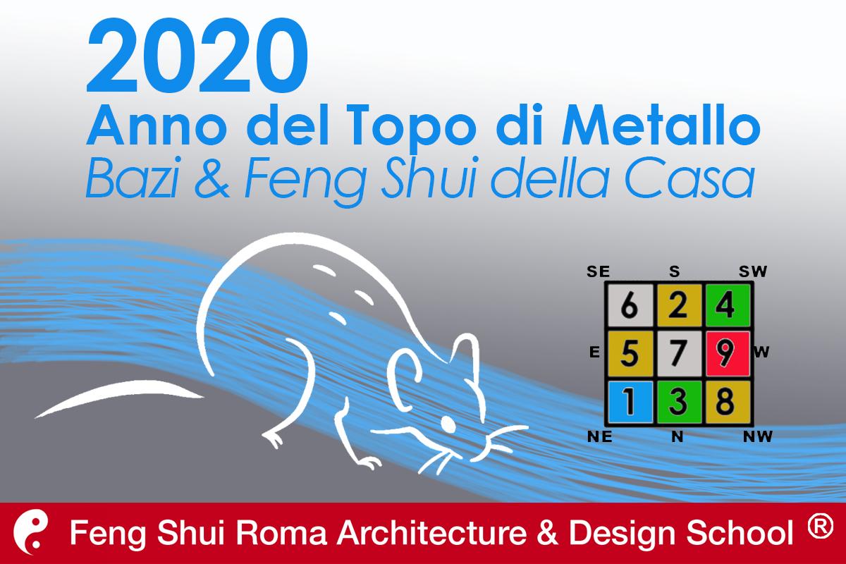 PREVISIONI 2020: ANNO DEL TOPO DI METALLO @ Feng Shui Roma School