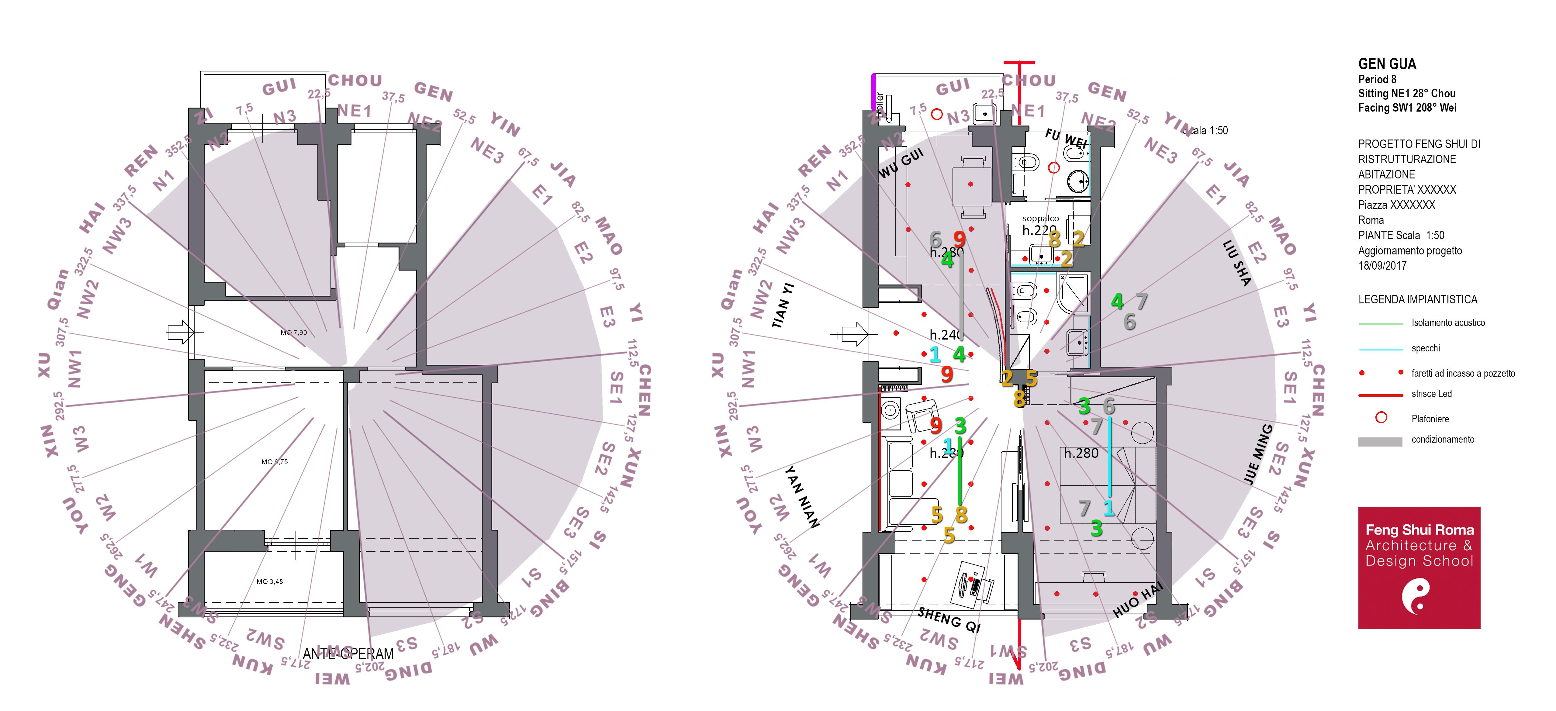 CORSO DI FENG SHUI DELLA FORMA ON-LINE (XING SHI PAI & BAZHAI MINJING) @ FENG SHUI ROMA ARCHITCTURE &DESIGN SCHOOL